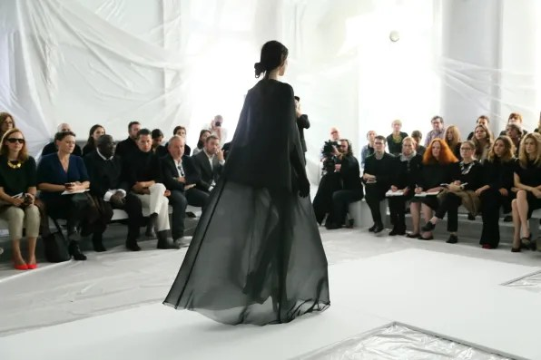 A look from Maison Margiela spring summer 2013