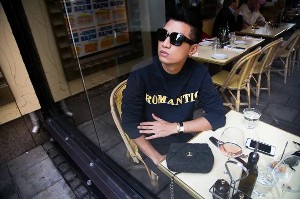 Bryanboy at Zink Grill in Stockholm