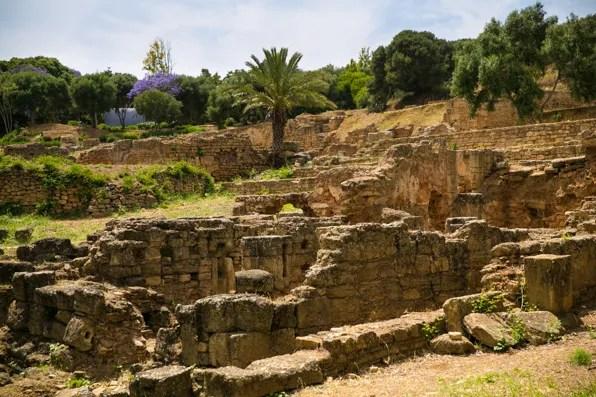 Kasbah Chellah Ruins in Rabat, Morocco