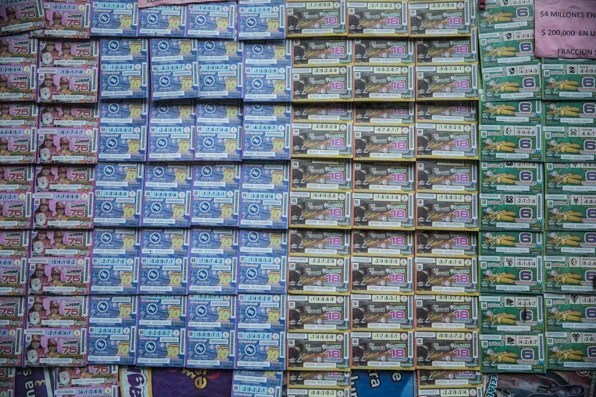 Mexico City Lottery Tickets