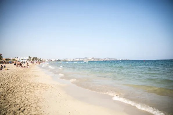 Playa d'en Bossa Ibiza beach