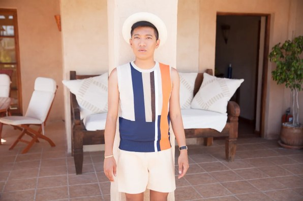 Bryanboy at his Ibiza villa rental