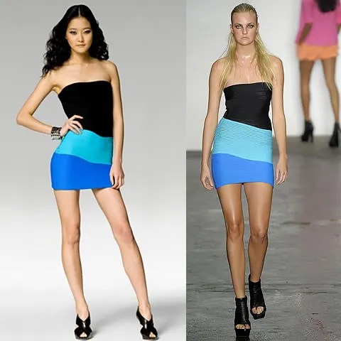 Alexander Wang dress spring summer 2009