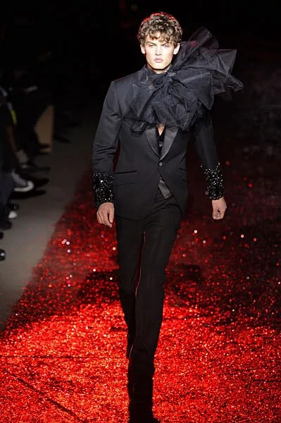 John Galliano menswear fall winter 2009 2010