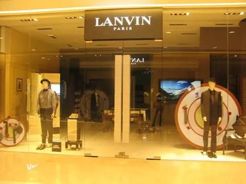 Lanvin mens store