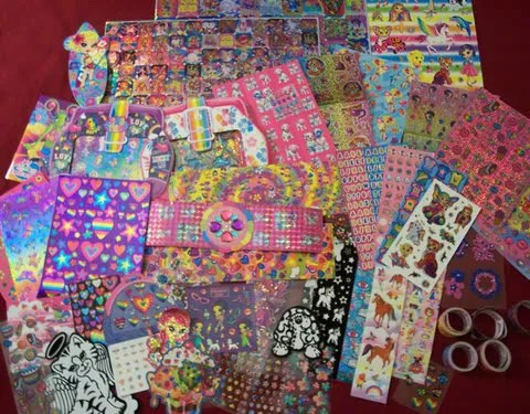 Lisa Frank Stickers