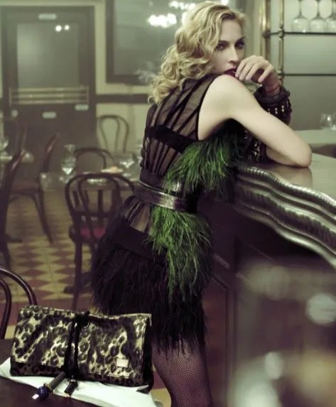 Louis Vuitton Spring Summer 2009 Ad Campaign photo and pictures featuring Madonna.
