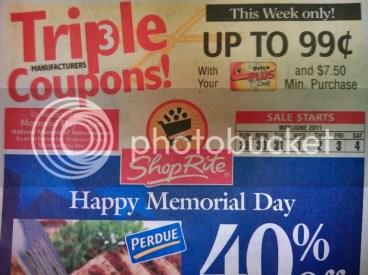 ShopRite Triple Coupons