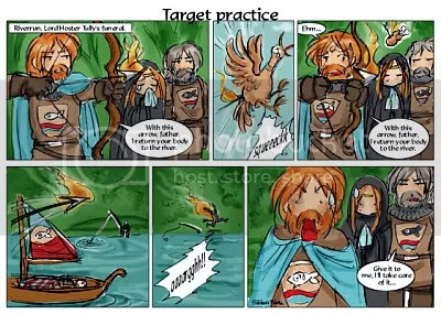 A Feast for Crows X - Target practice