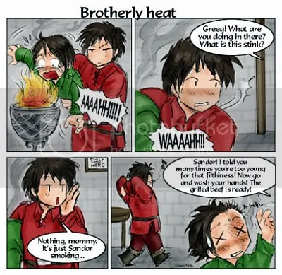 A Feast for Crows XIII - Brotherly heat