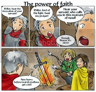 A Feast for Crows IX - The power of Faith
