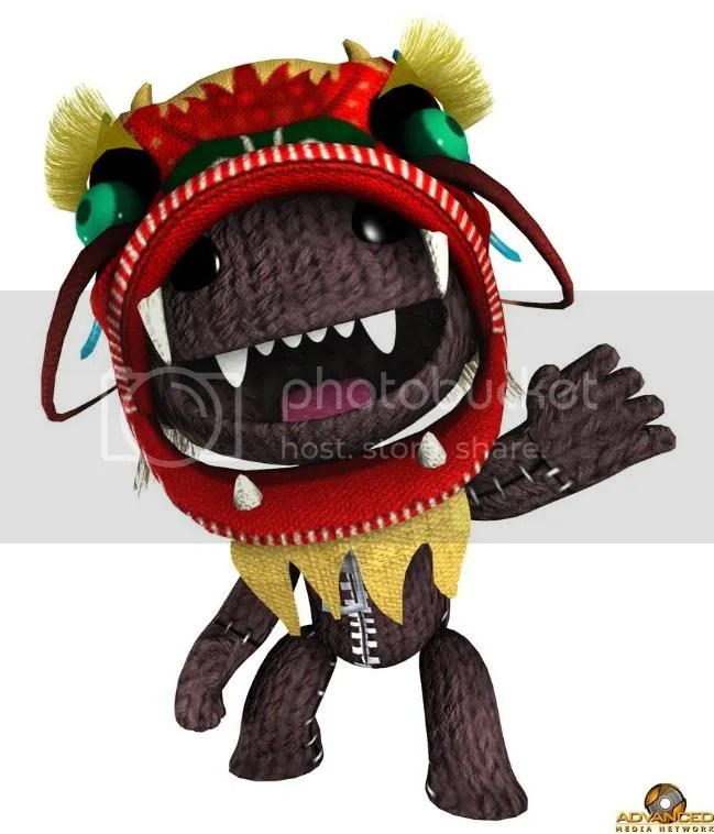 Digital Sackboy.