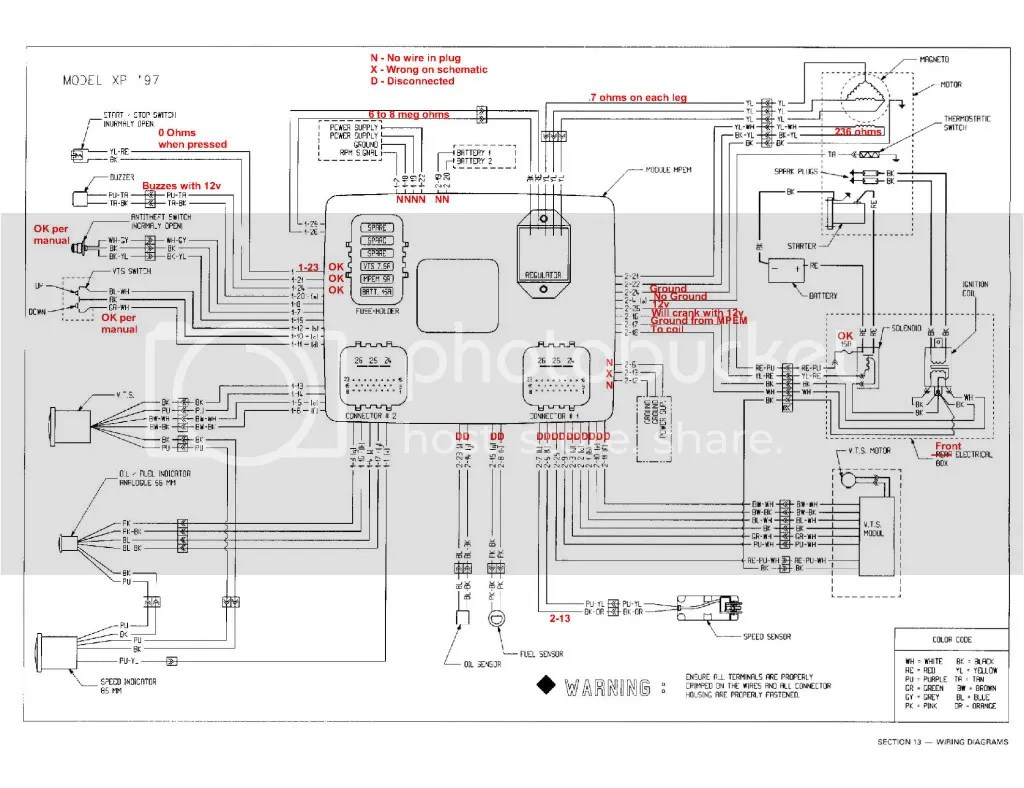 93 Sea Doo Wiring Diagram