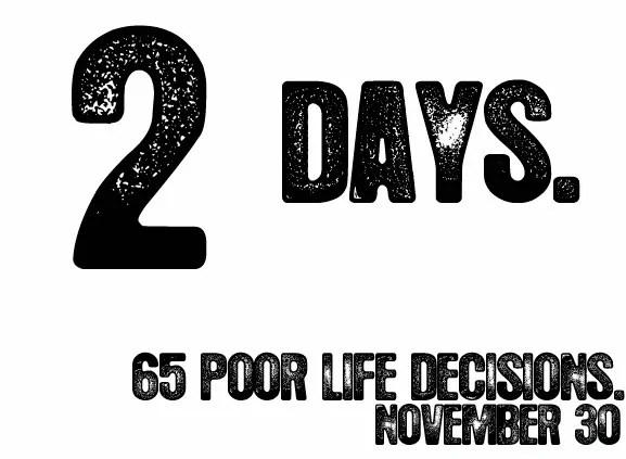 2 Days Until Doomsday.