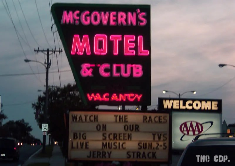 McGovern's. Within stumbling distance from CDP Headquarters.