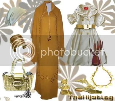 Saffron Abaya