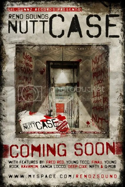 nutt case reno soundz album promo flyer