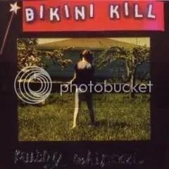 Pochette de l'album 'Pussy Whipped' de 'Bikini Kill'.