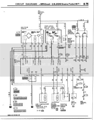 Need Mitsu Galant VR4 wiring diagram | Zerotohundred Forums