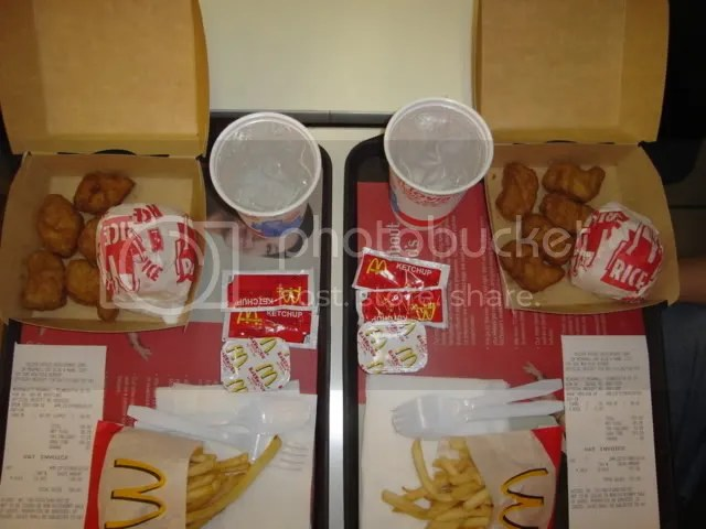 2 McNugget Meal Trays