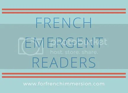 French Emergent Readers Bundle - For French Immersion