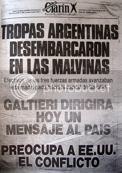 Titular de Clarín en 1982