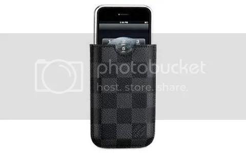 Louis Vuitton Damier Graphite iPhone Case