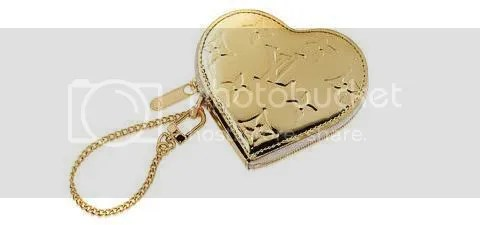 Louis Vuitton Heart Coin Purse