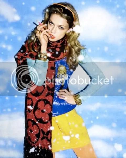 Russian Vogue December 2008: Снег