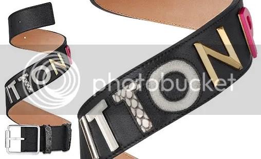 Louis Vuitton Collage Belt