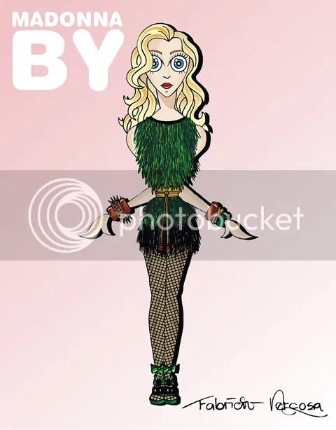 Madonna in Louis Vuitton by Fabricio Vercoza