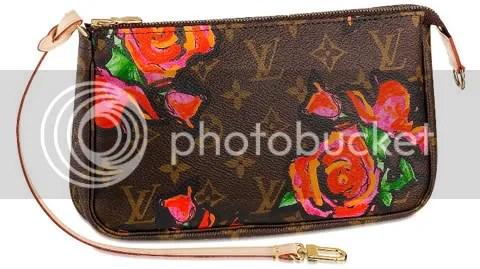 Louis Vuitton Monogram Roses Pochette Accessoires