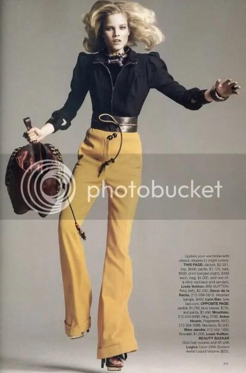 Harper's Bazaar March 2009: Spring's Key Pieces