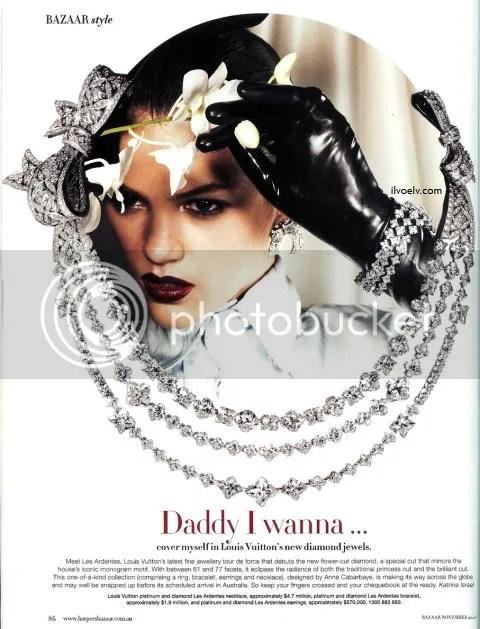 Louis Vuitton Les Ardentes Diamond Collection