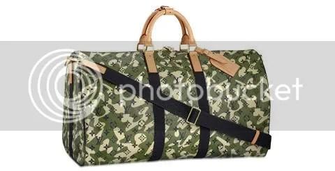 Louis Vuitton Monogramouflage Keepall 55