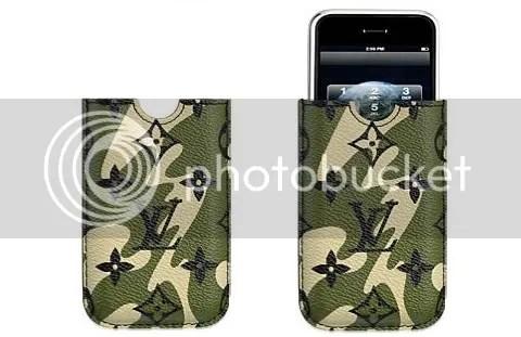 Monogramouflage iPhone Case