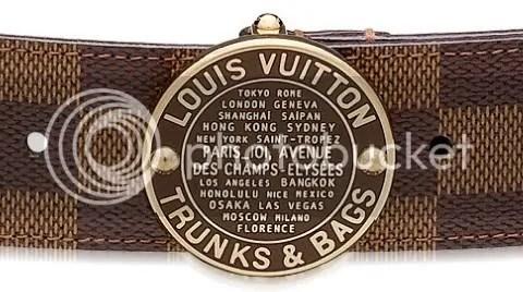 Louis Vuitton Trunks & Bags Belt