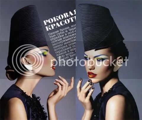 Vogue Russia December 2008: Роковая красотка