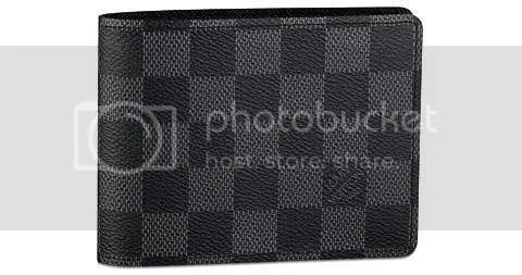 Louis Vuitton Damier Graphite Multiple Wallett