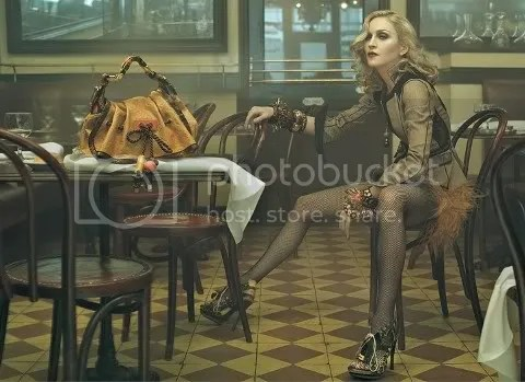 First Look: Madonna for Louis Vuitton Spring/Summer 2009 Ad Campaign