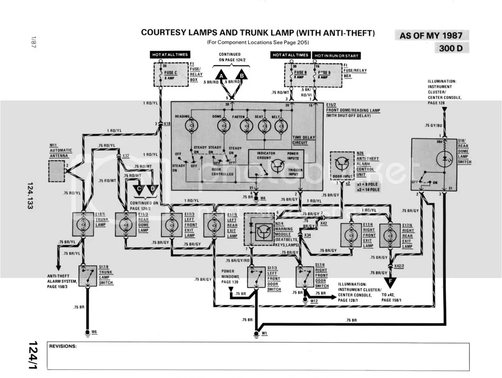W124 300d Electrical Problem