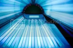chloe sims starship tanning bed