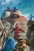 Monsters vs Aliens - Dreamworks
