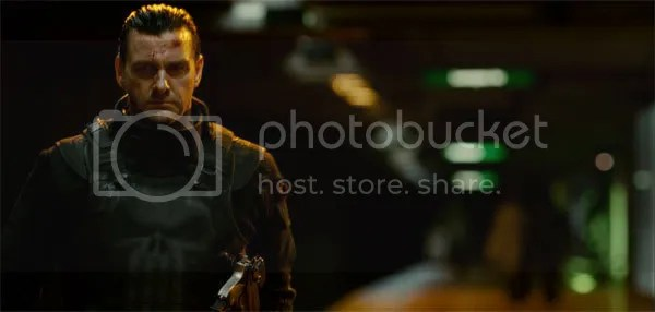 Ray Stevenson as the Punisher