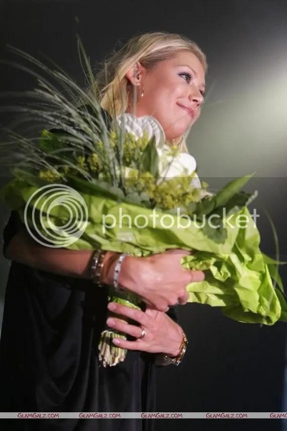 Anna Kournikova at Laureus Charity Gala
