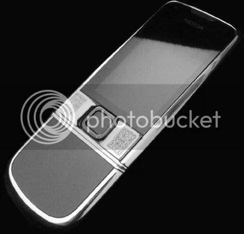 Nokia 8800 arte Platinum Snow Fox Editon