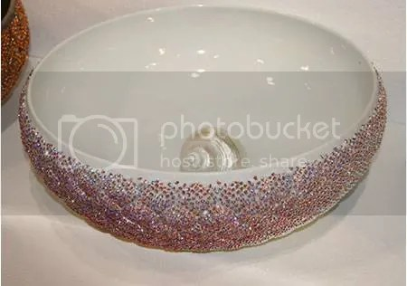 Cool Swarovski Crystal Sinks