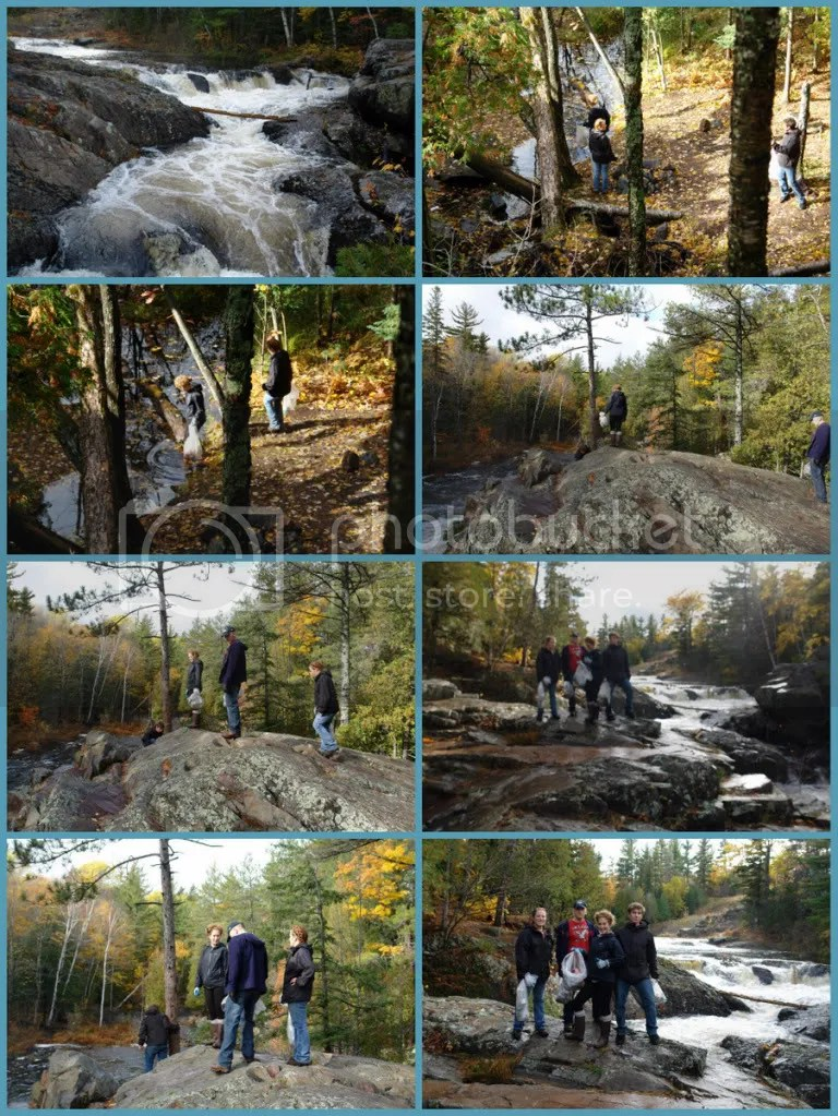 Redux Collage NMU EK Student Team Clean Dead River Make Difference Day