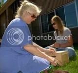 2008 Zaagkii Project pixs with Sarah Swanson and Diana Magnuson