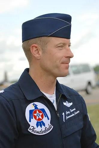 Salah satu pilot Thunderbirds